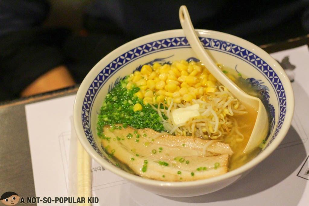 Ukokkei Ramen Ron's Miso Butter Corn