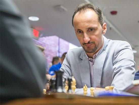 Ronde 5: le Bulgare Topalov perd contre Fabiano Caruana © Lennart Ootes