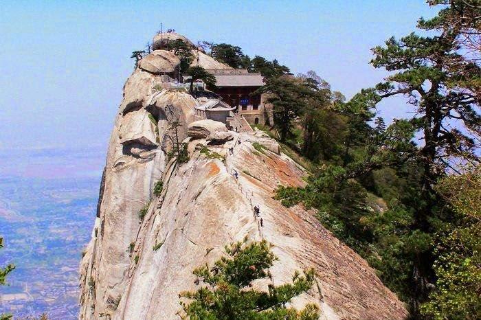 An old taoist temple converted as a tea house
