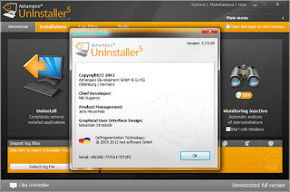Ashampoo UnInstaller 5.03 + Reg Key