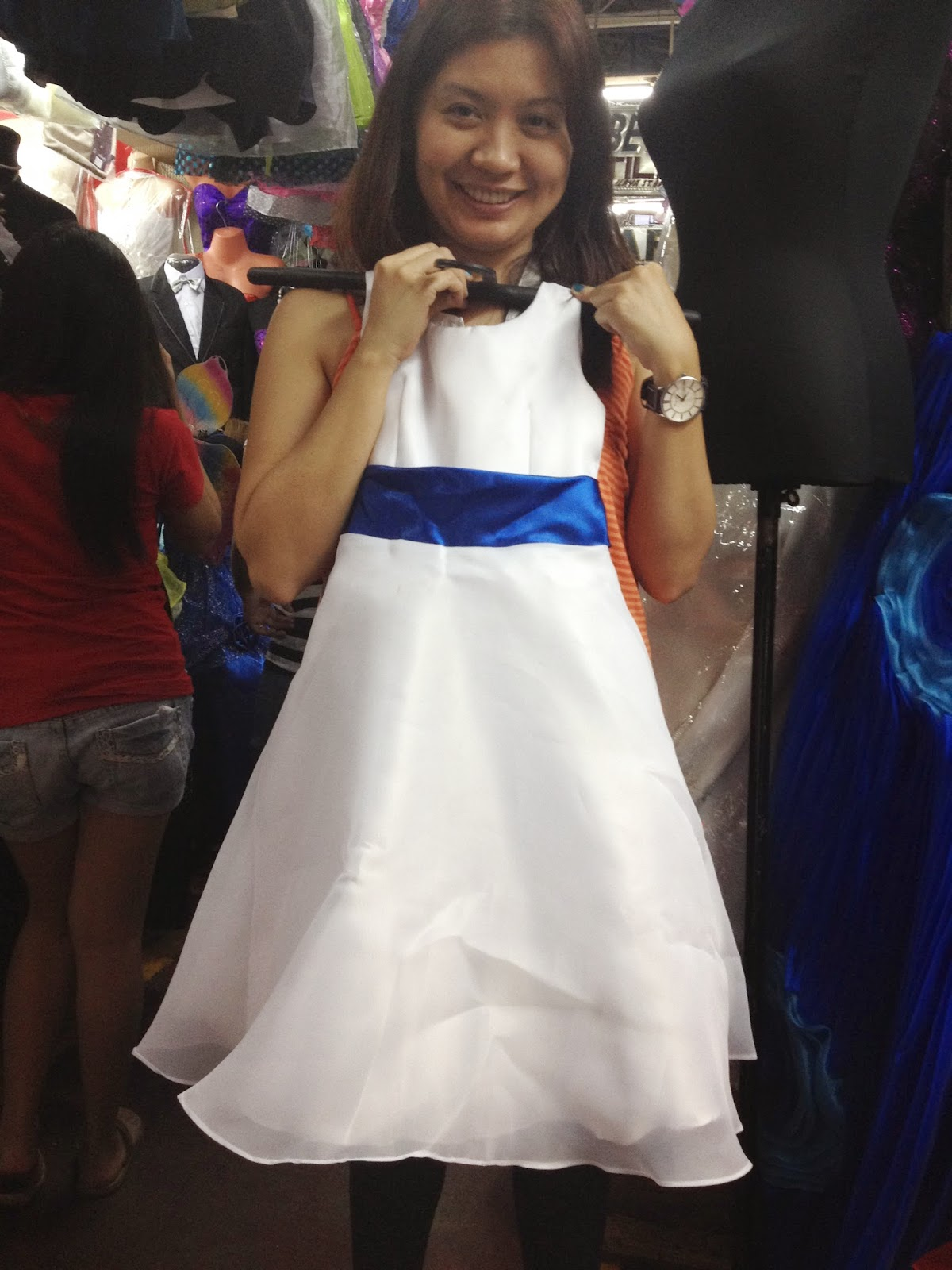 Our Journey to the Big Event Gown Searching in Divisoria