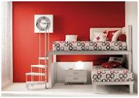RED BEDROOMS - COLORS FOR BEDROOMS - BEDROOMS BY COLORS - BEDROOMS AND COLORS - MEANING OF COLORS