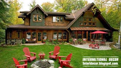 Interior Decor Idea: Old farmhouse in the woods with a rustic interior