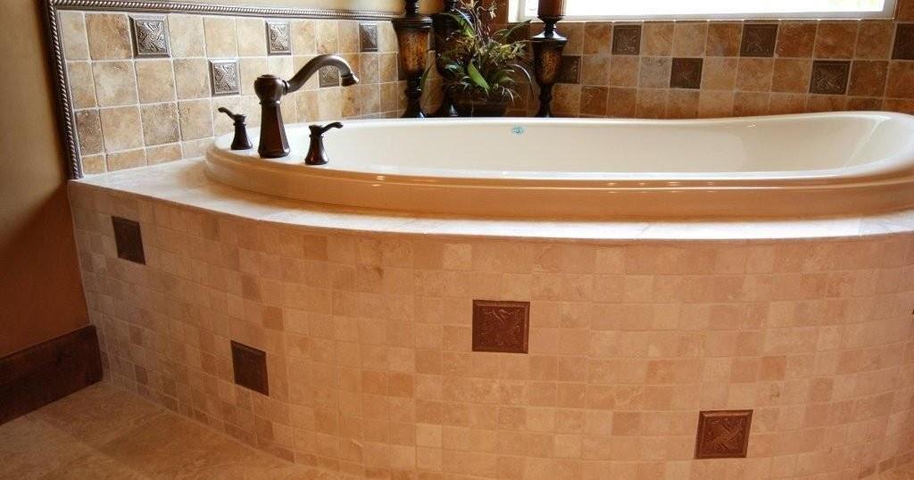 Tina de bano estilo toscano tuscan style cocinas y ba os reposteros encimeras pisos duchas - Tinas de bano ...