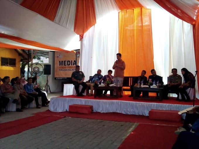 Ketua KPU Pusat Cek Persiapan Pilkada di KPU Depok