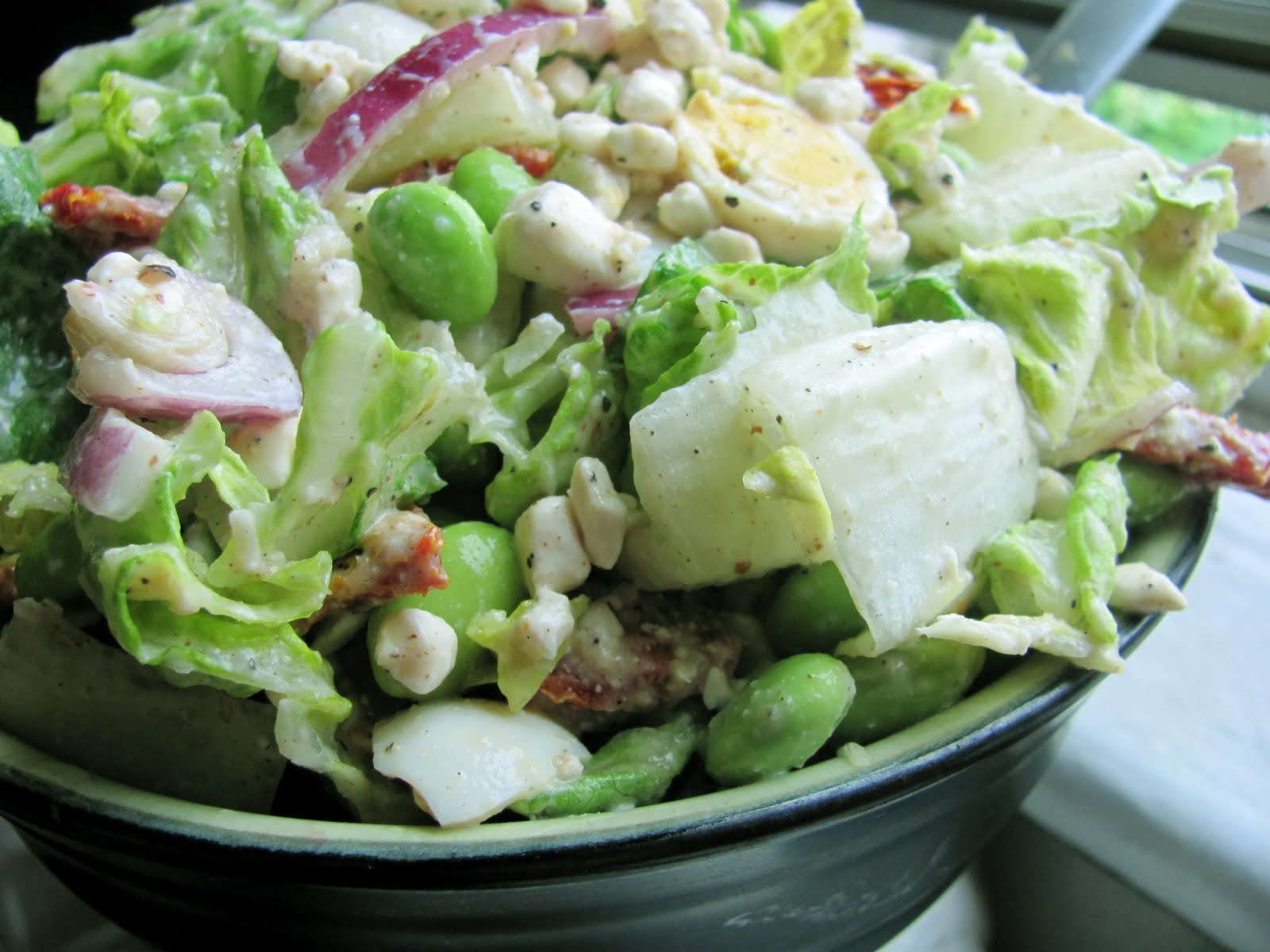 Here is my new C reamy Caesar Salad - why would you want to make it ...