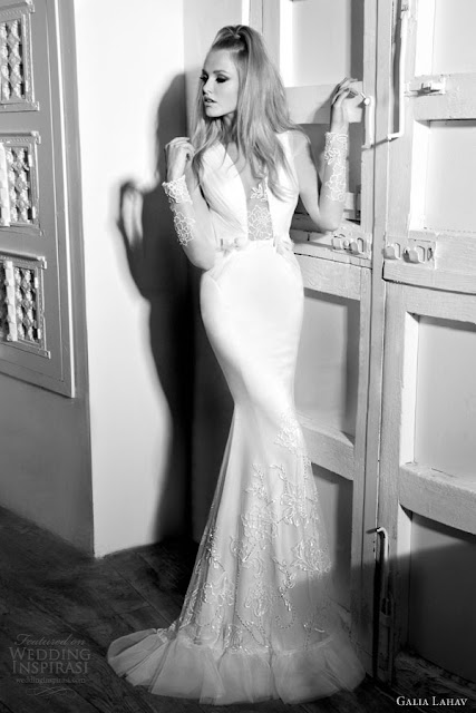 Galia Lahav mermaid wedding  dress 2013 2014