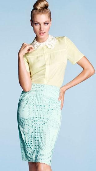 H&M primavera verano 2012 moda colores pastel