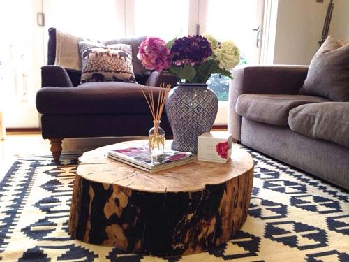 mẫu bàn ghế độc đáo cho phòng khách