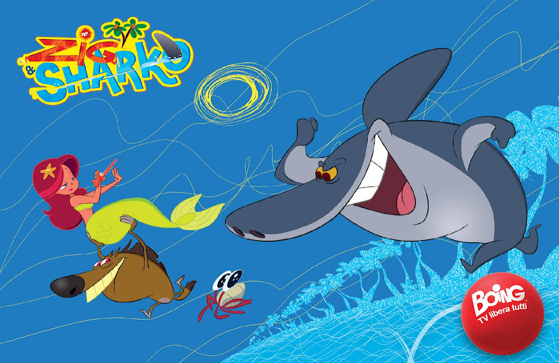Zig sharko coloring pages coloring pages gallery for Zig e shark