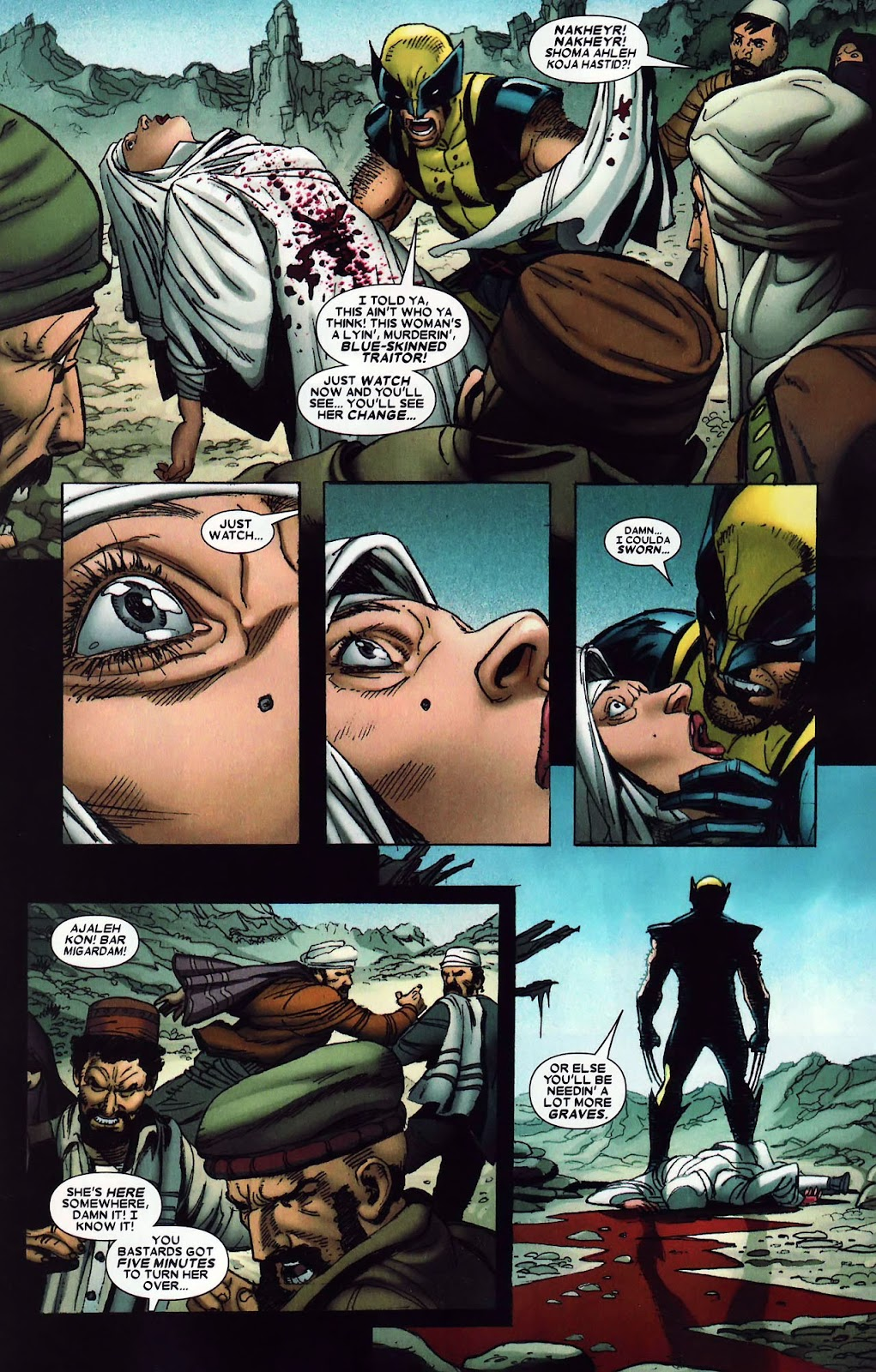 Read online Wolverine (2003) comic -  Issue #62 - 11