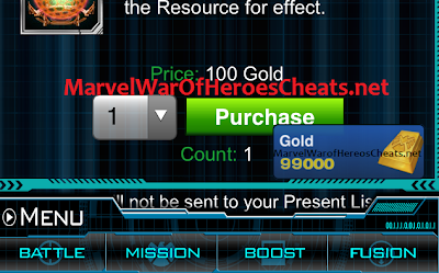 Marvel War of Heroes Cheats - Updated and Working 2013 | Marvel War of