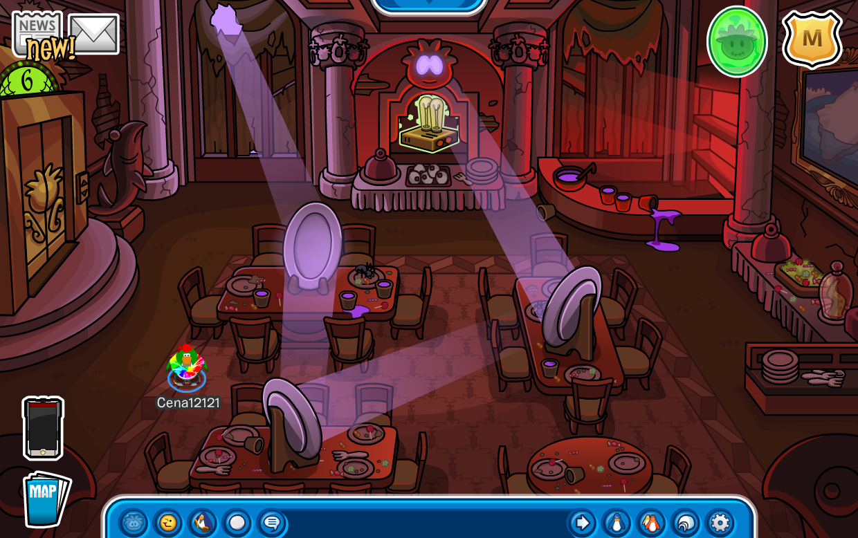 Club Penguin Halloween Party 2014 Quest Cheats