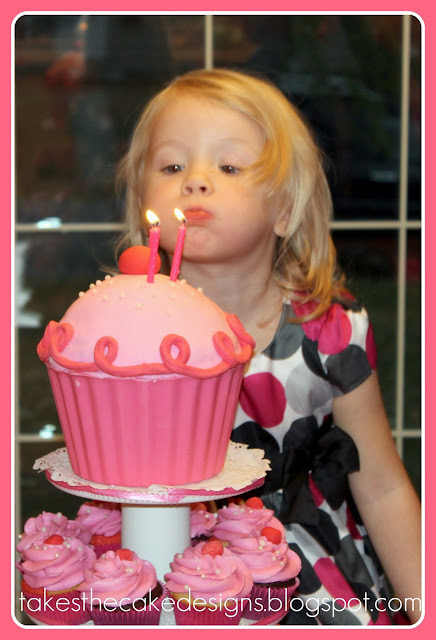 Takes The Cake Pinkalicious Cupcake Party