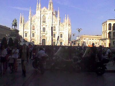 Piazza Duomo Milano, 30.05.2011 ore 18:50