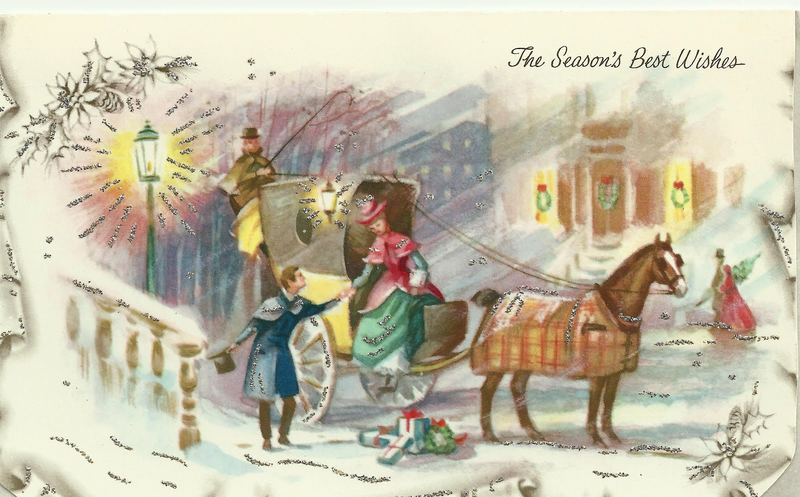 Cheryl\'s Christmas Chattels: Vintage Christmas Cards!
