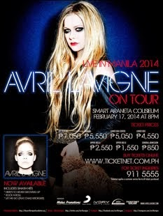 Avril Lavigne Live in Manila