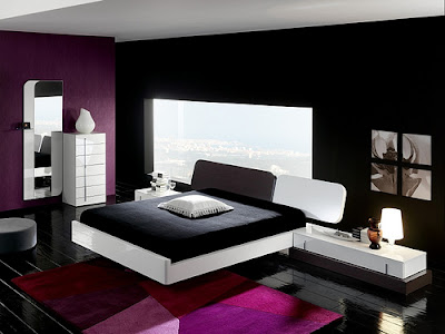 Black & White Bedroom Design Ideas