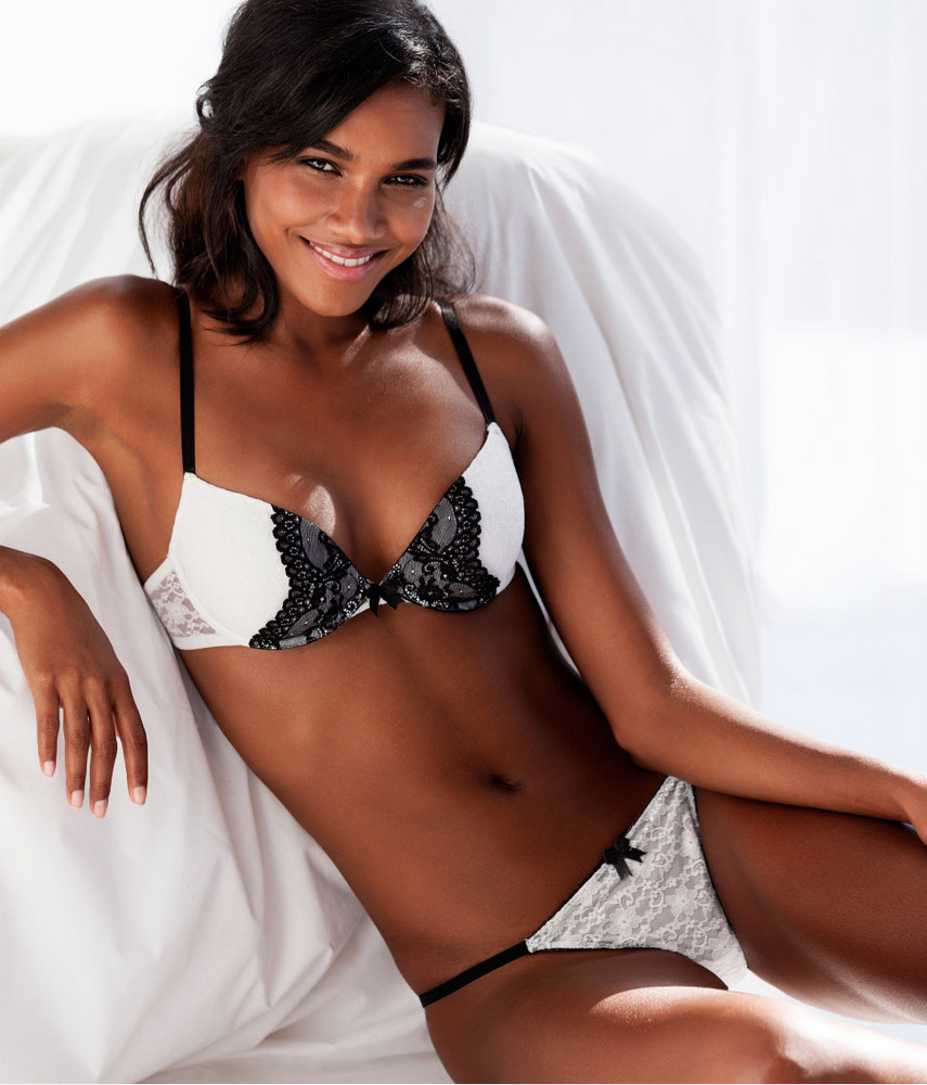 THE SHARPER: Arlenis Sosa Pena for H&M Lingerie SS 2013 ...