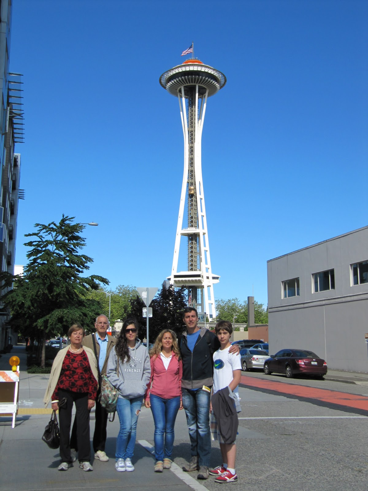 fotos con la space needle