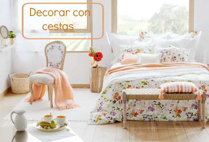 decorar con cestas