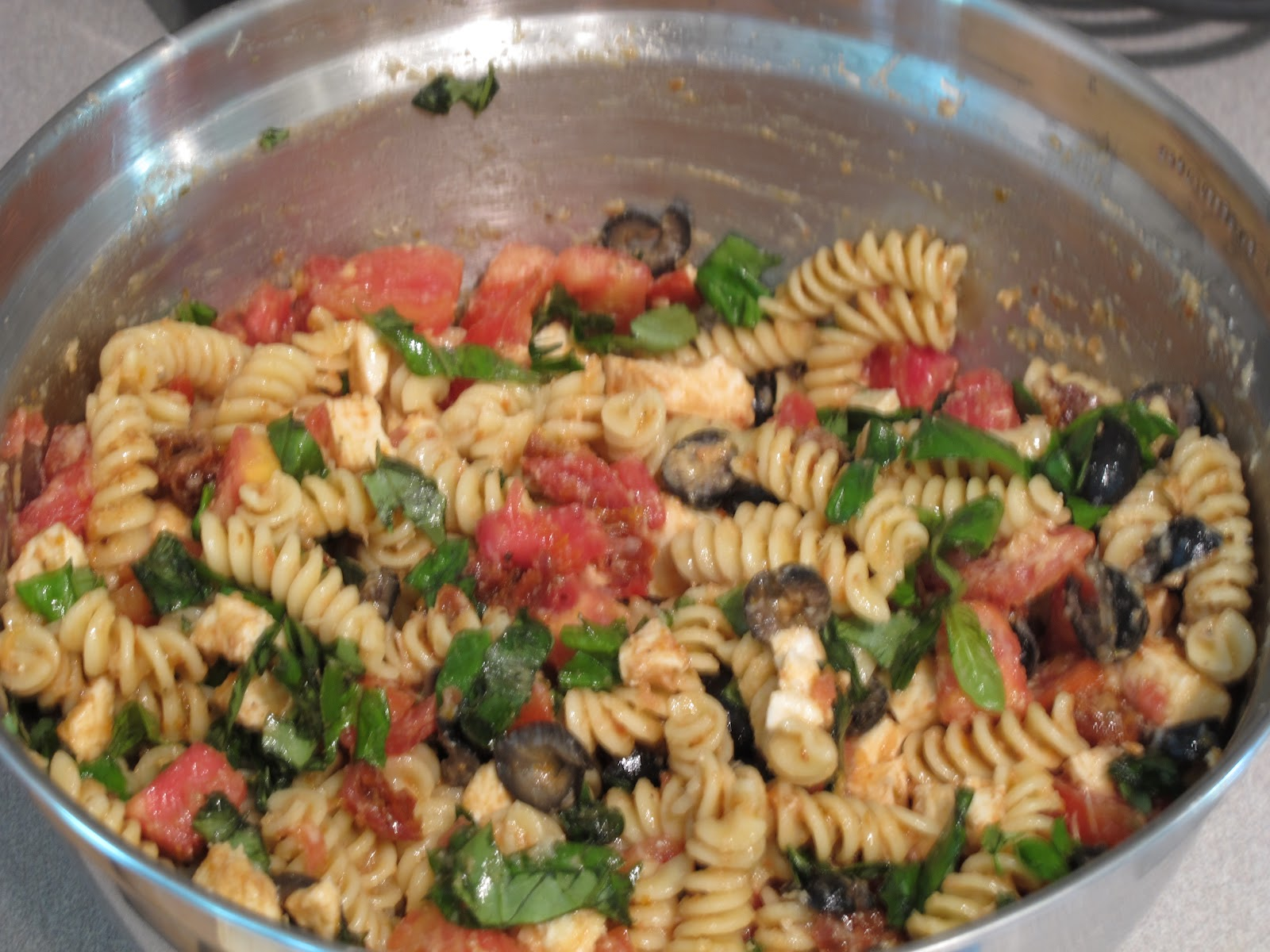 Magnolia cooks ina garten 39 s pasta salad Ina garten summer pasta