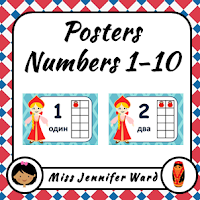 https://www.teacherspayteachers.com/Product/Numbers-1-10-Posters-in-Russian-Girl-2223747
