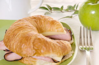 Ham & Cheese Croissant Melt Recipe