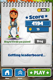 Subway Surfers Score