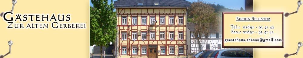 "Guesthouse, Boarding House, Pension ""Zur alten Gerberei"""