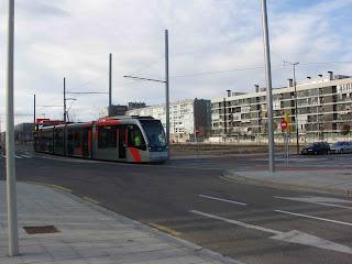 tranvía de Zaragoza Valdespartera