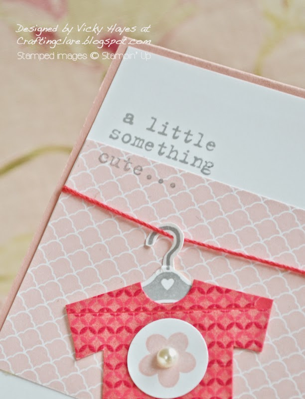 New Something for Baby by Stampin' Up available to buy online from UK demonstrator Vicky Hayes