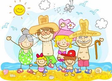 liburan bersama keluarga ketika berbisnis dari rumah
