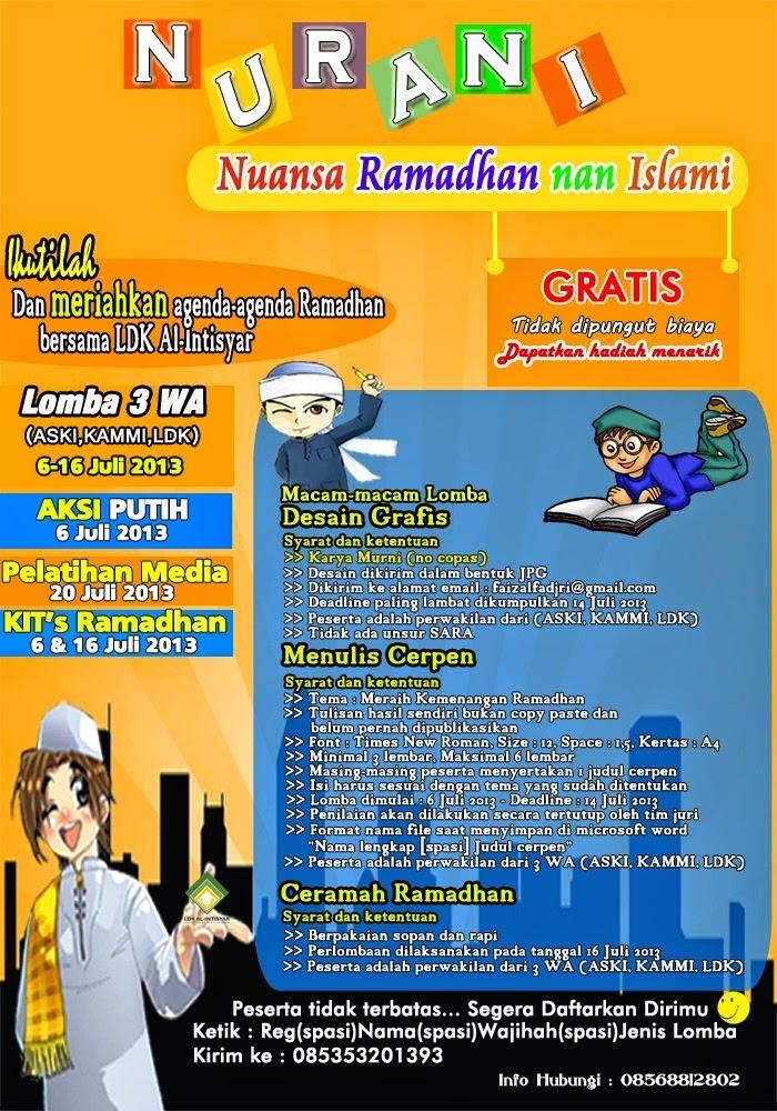 Contoh Contoh Desain Pamflet Keren Aski Uika Bogor