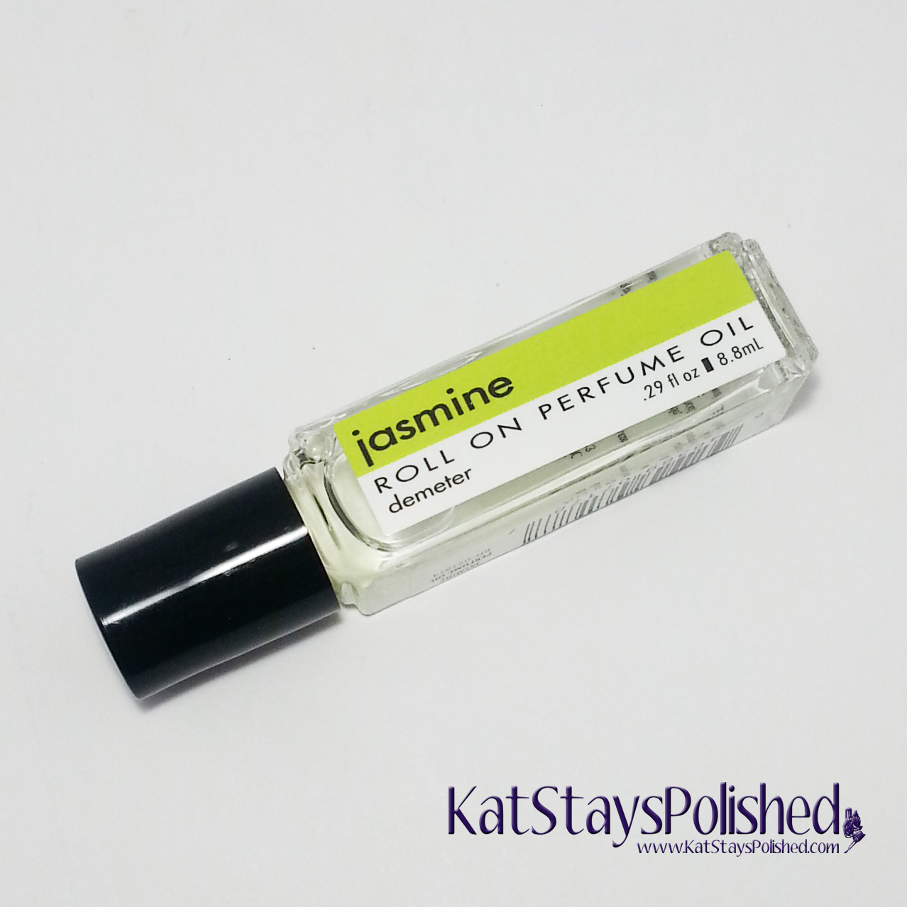 April 2014 Ipsy Bag - Demter Fragrance Roll On Perfume Oil - Jasmine | Kat Stays Polished