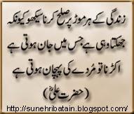 hazrat ali islamic urdu aqwal-e-zareen, facebook urdu aqwal