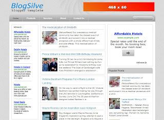 Blogsilve Blogger Template