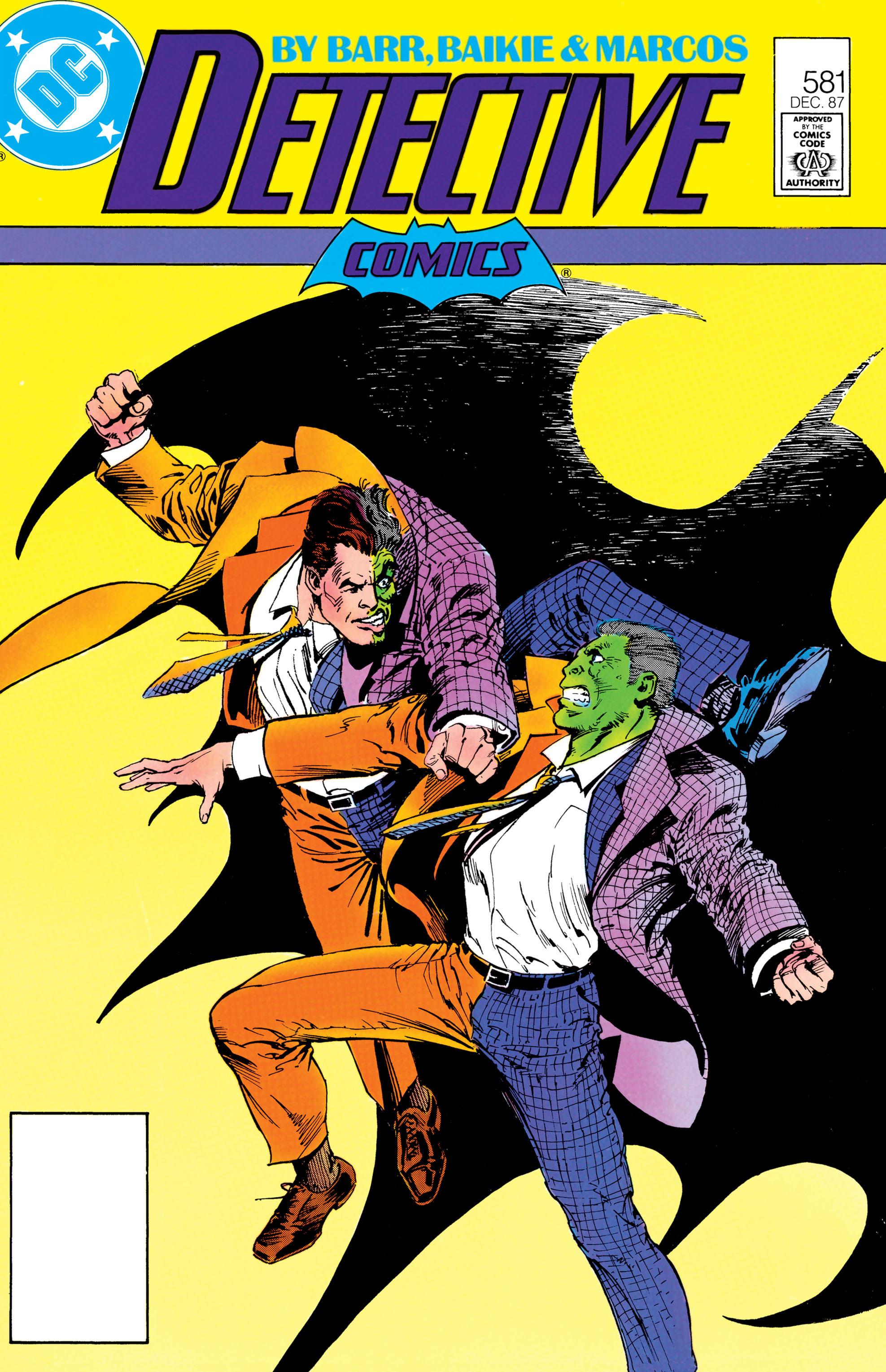 Detective Comics (1937) 581 Page 1