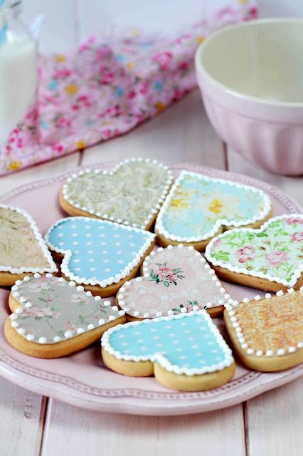 Galletas con papel de azúcar