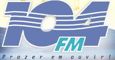 ouvir a Rádio 104 FM 104,7 ao vivo e online Parnamirim