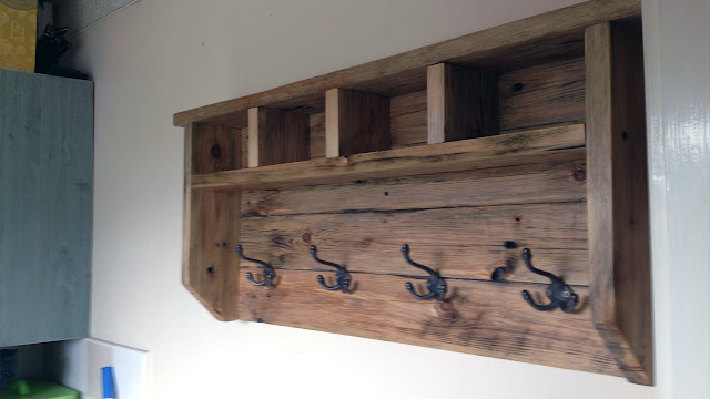 Farmhouse coat hanger