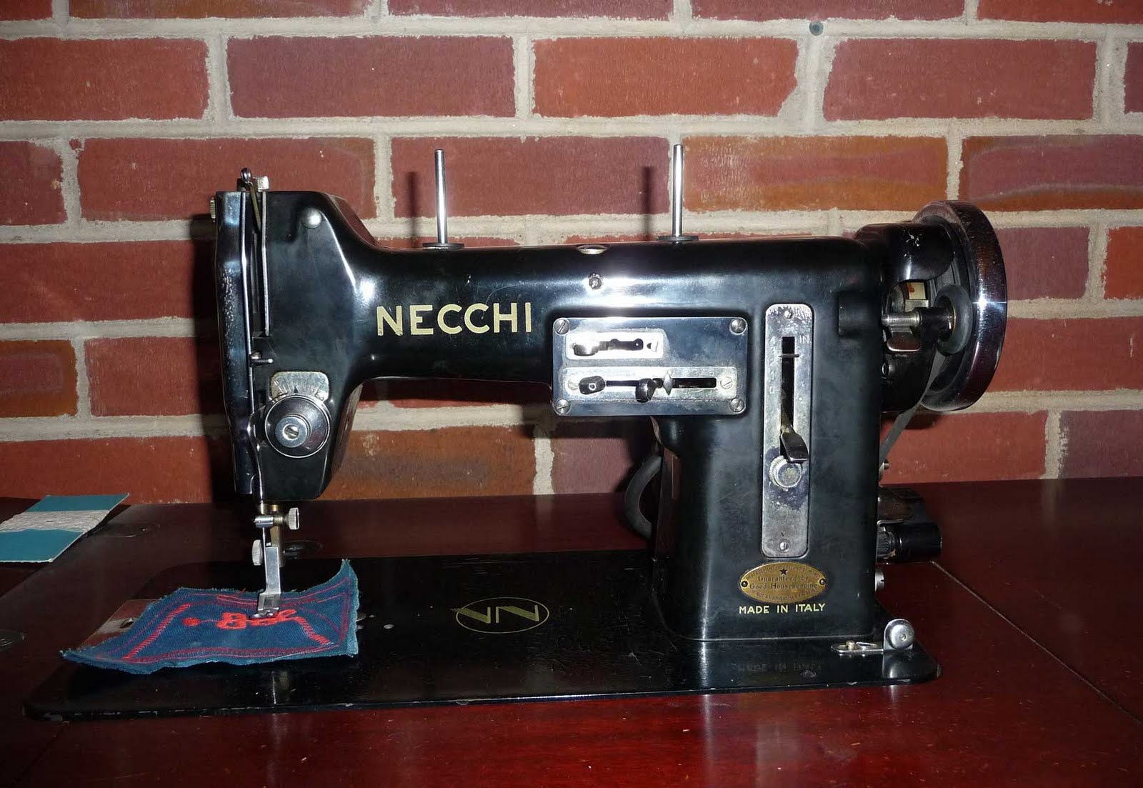 vintage necchi sewing machine for sale