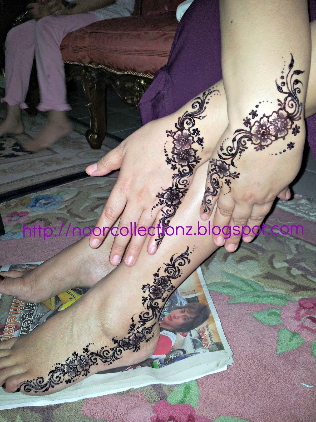YOUR MALAYSIAN ONE STOP HENNA CENTER Inai Henna Simple Di