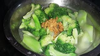 sayuran, brokoli, sayuran brokoli kuah, sayuran brokoli kuah polos