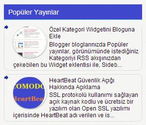 Blogger gadget başlığı nasıl renkli yapılır