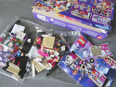 LEGO Friends, Pop Star toys, girl construction set
