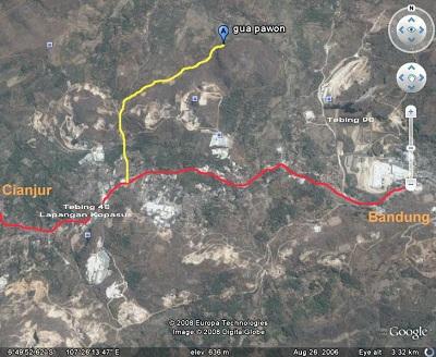 Peta Goa Pawon