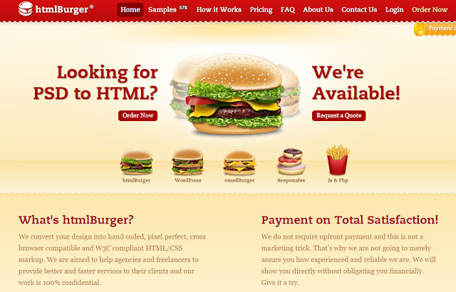 16 Excellent PSD to HTML Services
