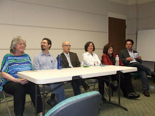 Writer's Panel at West Caldwell Poetry Festival