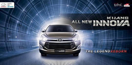 Resmi Toyota All New Kijang Innova meluncur 23 November 2015